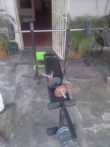 pesa y barra