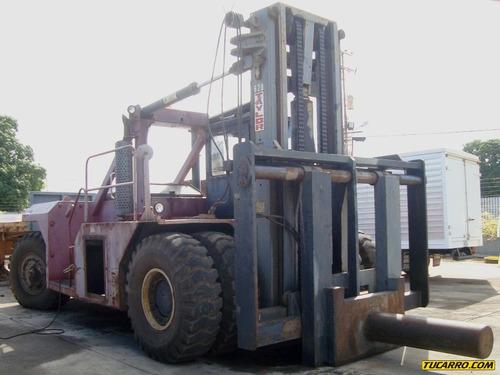 pesada montacargas maquinaria