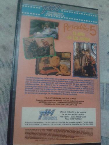 pesadilla 5 el niño de los sueños-1989-vhs