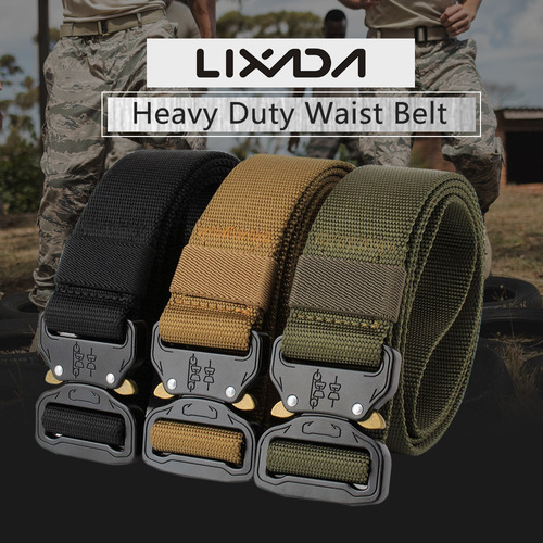pesado deber cintura cinturón ajustable nylon cinturones con