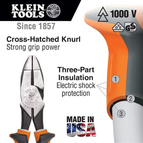 pesado deber lado corte alicates aislado klein herramientas