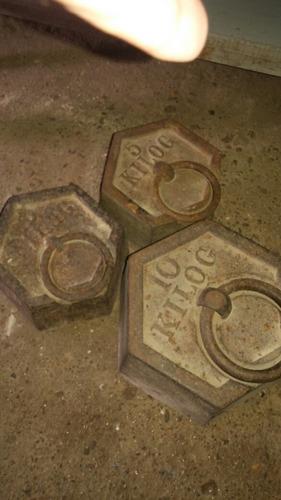 pesas antiguas