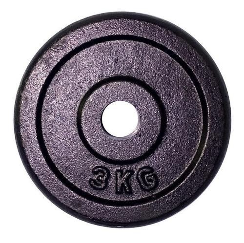pesas discos barra por