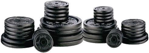 pesas discos de hierro macizo x kilos+mancuernas cromadas