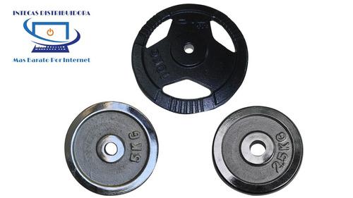 pesas/ discos para mancuernas/barras precios bajos