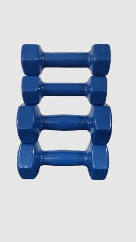 pesas fitness 2.5 y 5kg mancuernas pares hierro/vinil nuevas