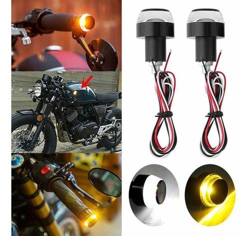 pesas led direccionales para motocicleta, set x 2 unidades