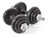 pesas mancuernas 20kg regulable tuerca seguridad