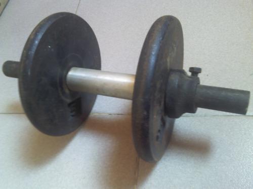 pesas mancuernas discos ejercicios entrenamiento gimnasio