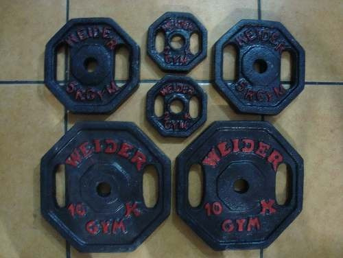 pesas nacionales de hierro fundido por kilo