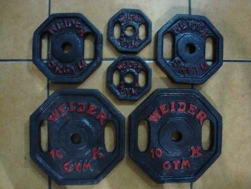 pesas nacionales en redondas y octogonales x kilo