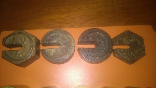 pesas para bascula antiguas (precio por unidad)