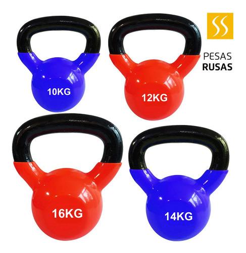pesas rusas 10kg, 12kg, 14kg, 16kg kettlebell entrenamiento