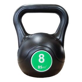 Pesas Rusas Bsfit Kettlebell Plastica 8kg Fitness Mancuerna
