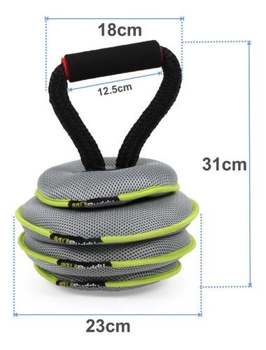 pesas rusas kettlebell graduable importada de 10kg