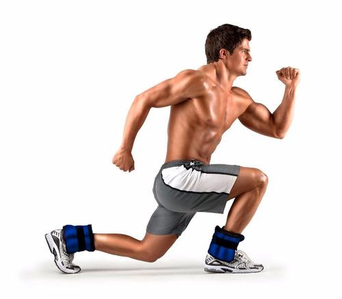 pesas tobilleras fortalece tonifica 4kg 8lb fitness gym vmx