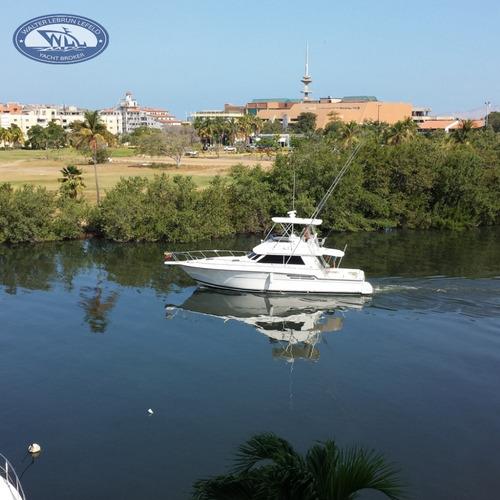 pesca deportiva tiara 4300 convertible  año 2.002