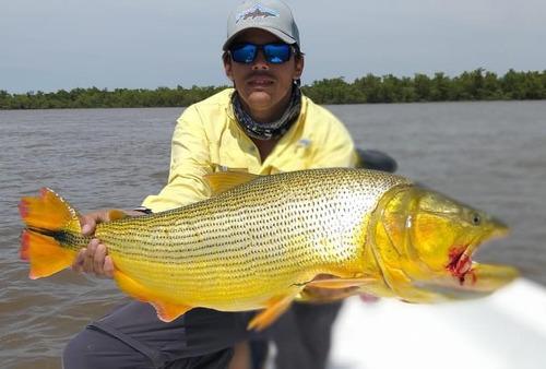 pesca embarcada , excursiones , alojamiento , baitcast ,fly