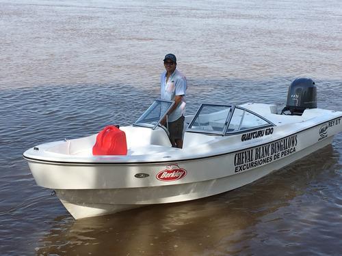 pesca embarcada , excursiones , alojamiento , baitcasting