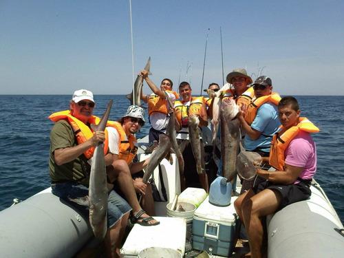 pesca embarcado   $ 2500 todo incluido