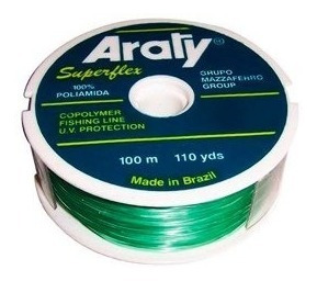 pesca nylon 0.90 araty natural x 100 mts