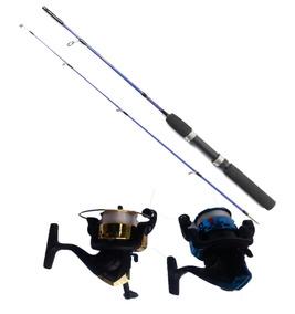 370f3677e Vara De Pesca Fibra De Vidro Maciça - Pesca no Mercado Livre Brasil
