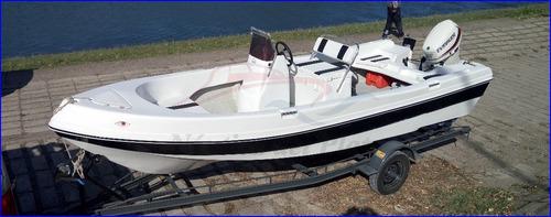 pescador trucker 550 borda alta, muy marinero nuevo equipado
