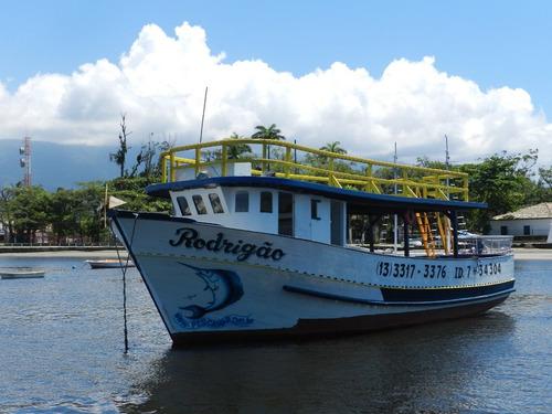 pescaria barco bertioga altomar rodrigao 2 andares-7*34304