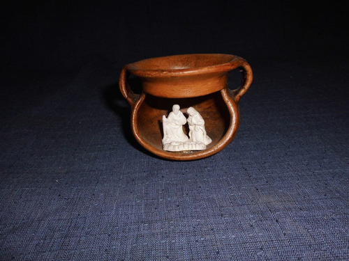 pesebre - ceramica rustica