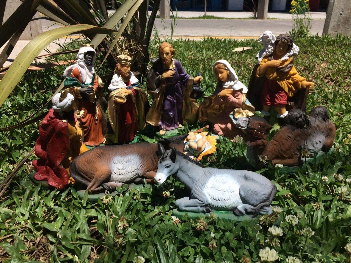 23620105ff7 Pesebre Completos Figuras 20 Cm Irrompible Navidad -   2.675