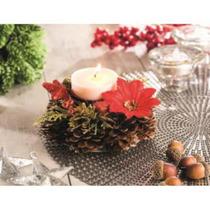 Candelabro Navideño Christmas Ville 55892 Multicolor