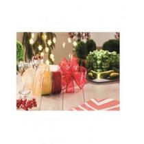 Cinta Navideña Christmas Ville 55047 Amarillo