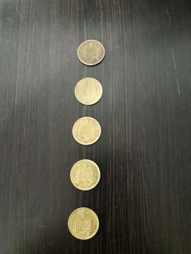 pesetas españolas...