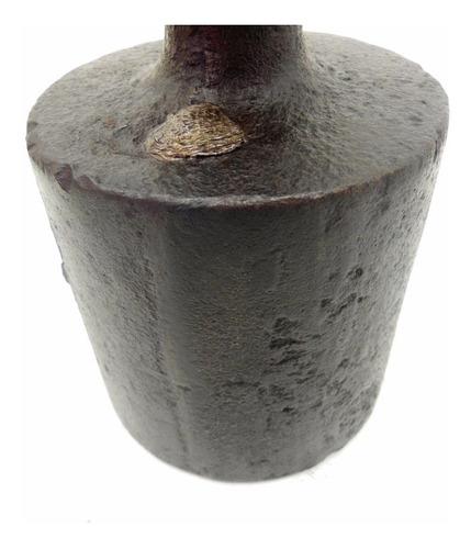 peso antigo de balança 10kg inteiro de ferro