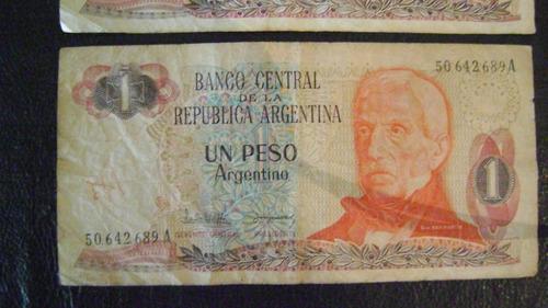 peso argentino billetes