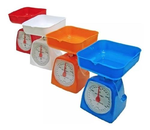 peso  balanza analógico con bandeja de cocina de 5 kg