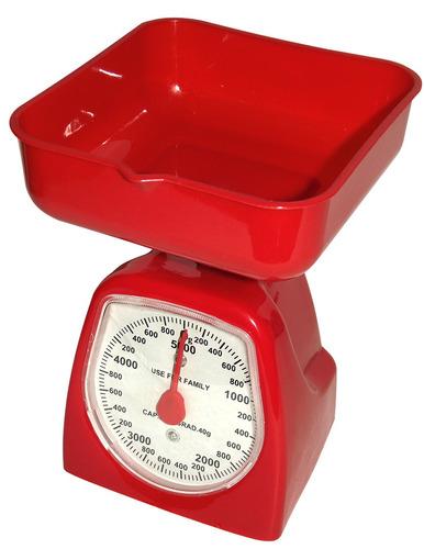 Peso balanza de cocina 5 kilos en colores cheff cocinero for Peso de cocina