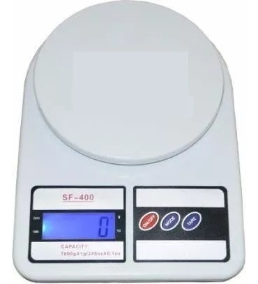 peso balanza digital 10kg portatil, incluye baterias, tienda