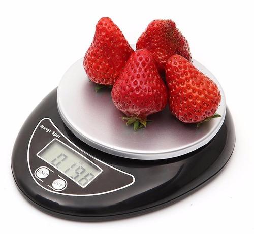 peso balanza digital lcd 5kg cocina hogar minimo 1 gramo