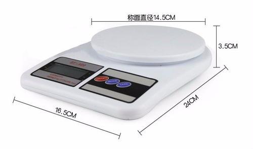 peso balanza digital portatil de cocina 10kg/1g