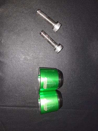 peso de guidão cor verde séries 250 300 400 650 moto