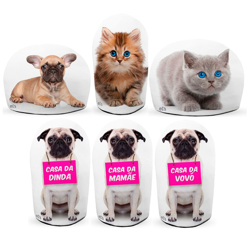 peso de porta gatinho marrom gato filhote segura porta fofo