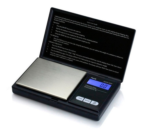 peso gramera digital 0.1 a 500g joyero oro portatil joyas