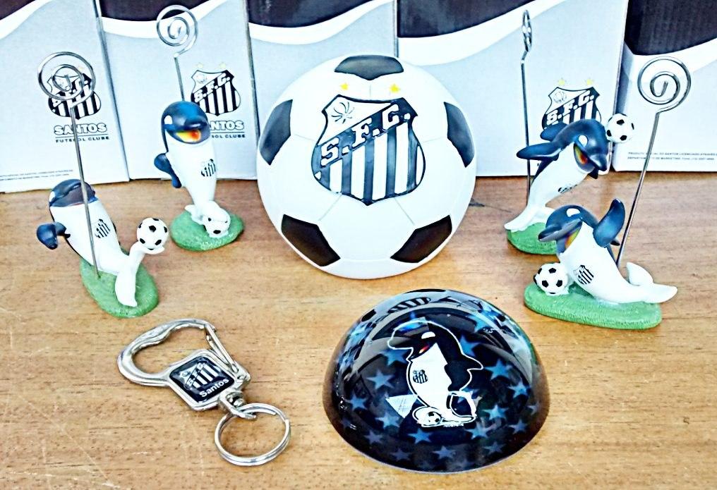 Peso Papel Mascote Chaveiro Cofre Santos Futebol Promoção - R  32 2436d060c8272