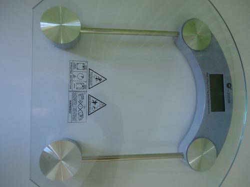 peso personal plataforma cristal templado 180 kg-396 lb