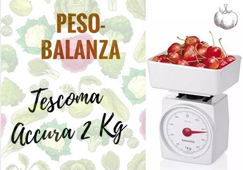 peso tescoma accura 2 kg - balanza de cocina