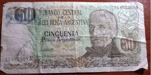 pesos argentinos billete