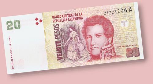 pesos convertibles argentina billete