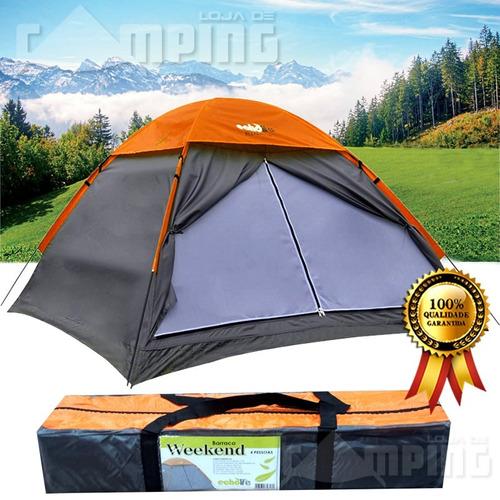 pessoas echolife barraca camping