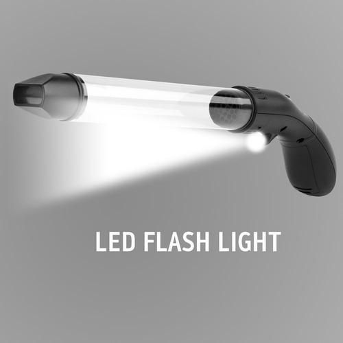 pest control aspiradora manual insectos luz led ideal hogar